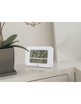 Reloj/Estación meteorologica blanco