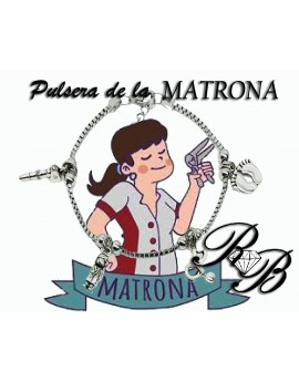 Pulsera de la Matrona plata...