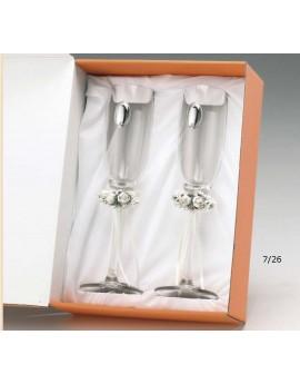 Caja 2 copas champagne