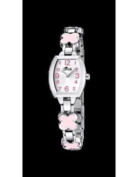 Reloj Lotus de acero para niña