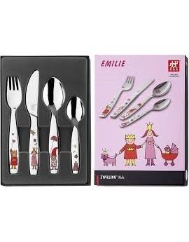 Set 4 cubiertos Emilie