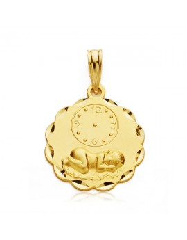 Medalla Niño reloj 19 x 16...