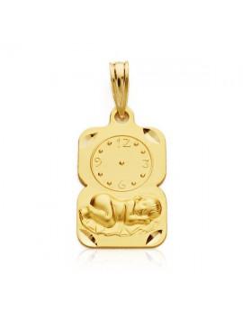 Medalla Niño reloj 19 x 11...