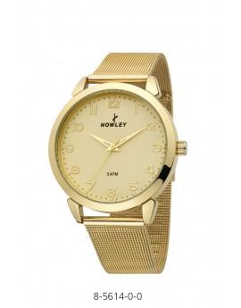 Reloj Nowley dorado Unisex...