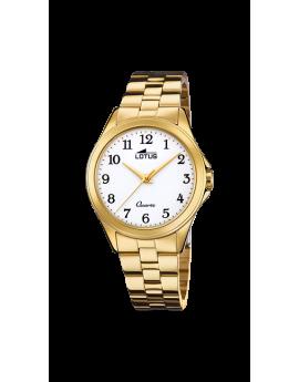 Reloj Lotus Trendy dorado...