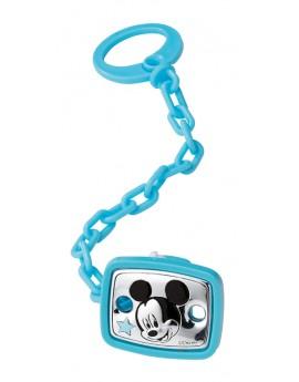 Pinza chupete Mickey azul...