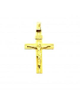 Cruz comunión maciza Oro 18...