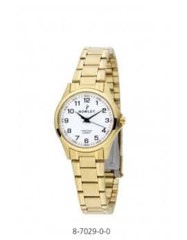 Reloj Nowley acero chapado...