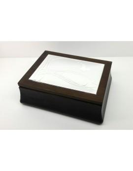 Caja joyero 21x15,5x6,5 cm.