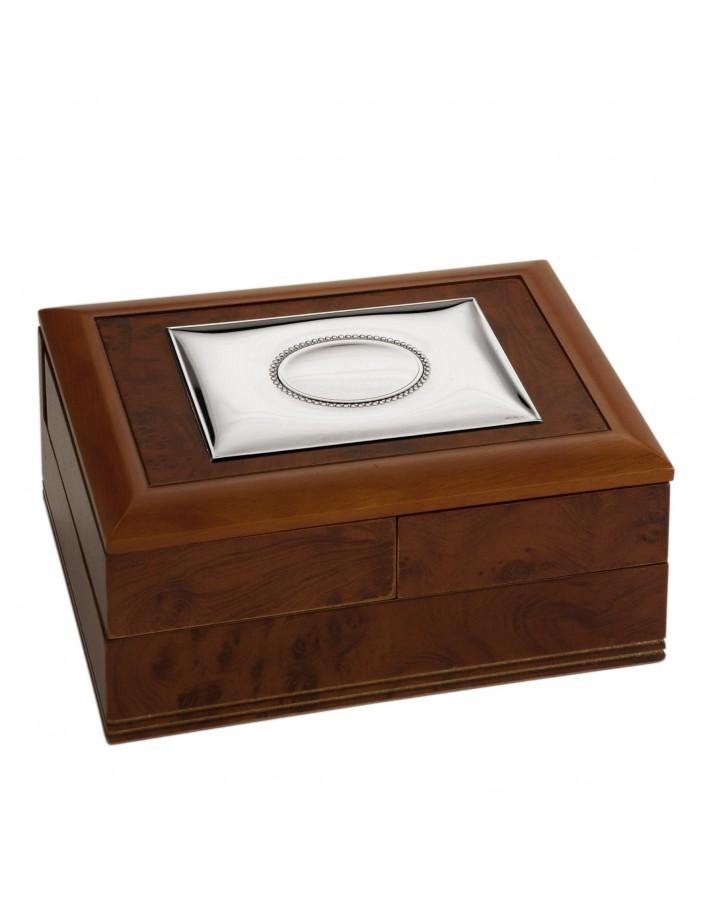 Caja joyero 21x15x10 cm.